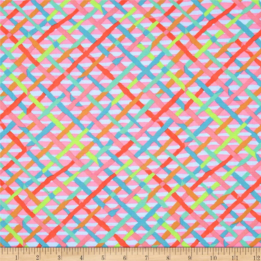 Kaffe Fassett Collective Mad Plaid Candy