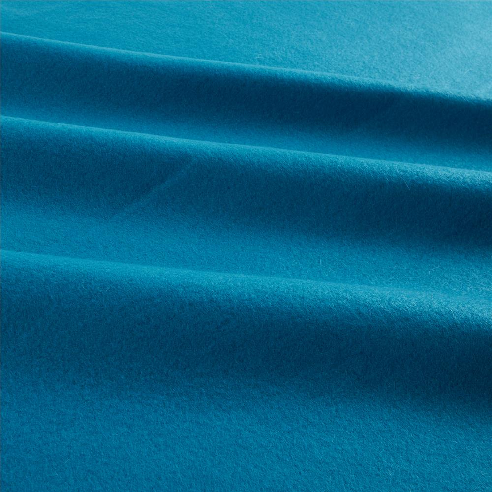 polar fleece solid turquoise discount designer fabric