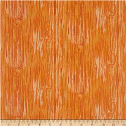 Frolicking Forest Wood Orange