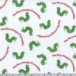 The Very Hungry Caterpillar White