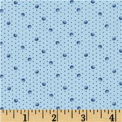 Birds of a Feather Shaded Dots Light Blue