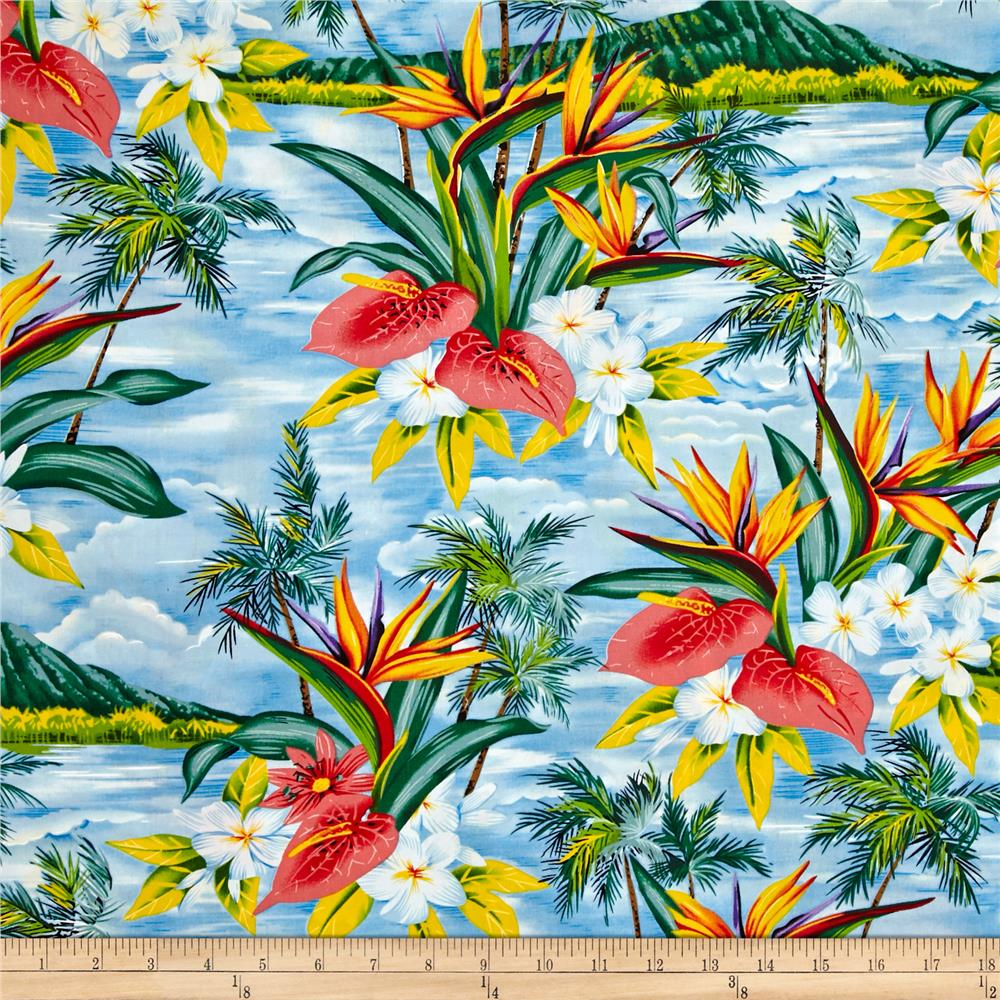 Hoffman Tropical Collection Volcano Blue