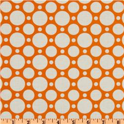 Crazy for Dots & Stripes Large Dot Orange
