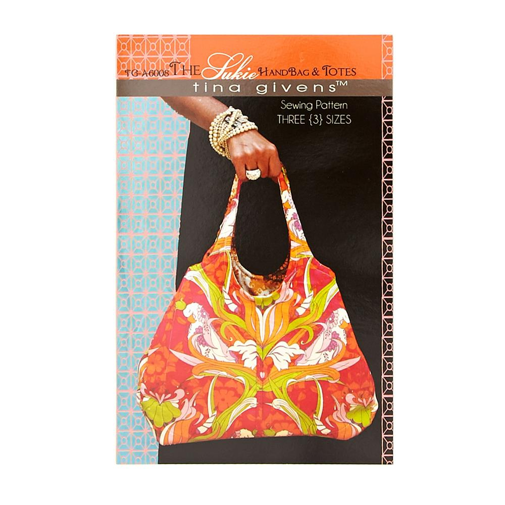 Tina Givens The Sukie Handbag & Tote Pattern