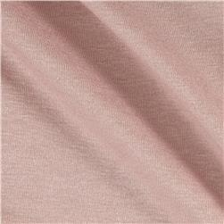 Rayon Spandex Jersey Knit Solid Rose Quartz