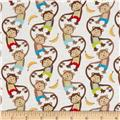 Monkey Mates Monkey Stripe Multi