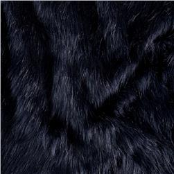 Shannon Luxury Faux Fur Fox Indigo