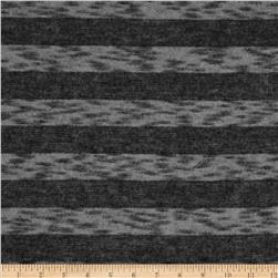Hatchi Knit Variegated Stripe Grey/Black
