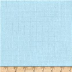 Gauze & Effect Double Gauze Solid Light Blue