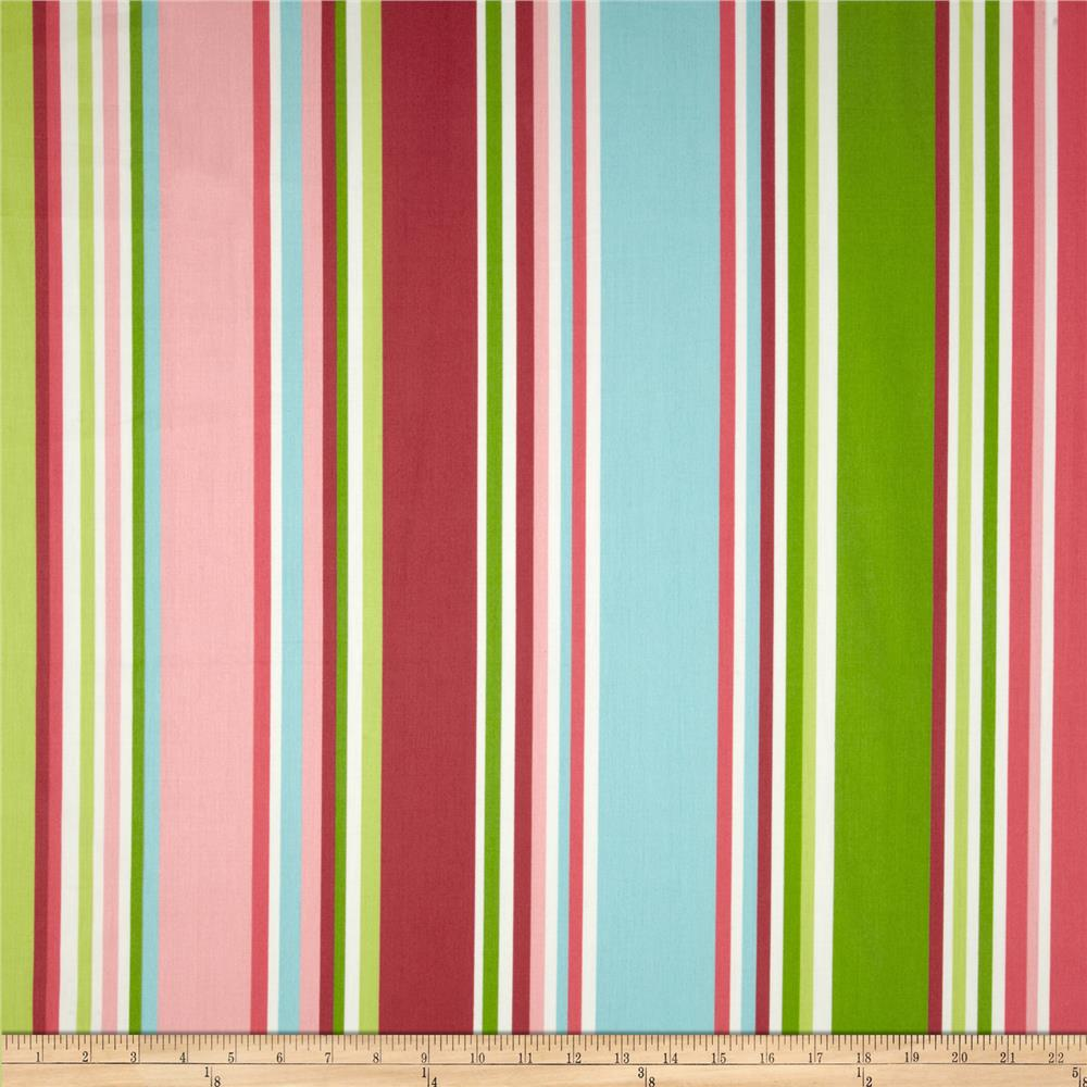 Waverly Valentina Stripe Sateen Spring