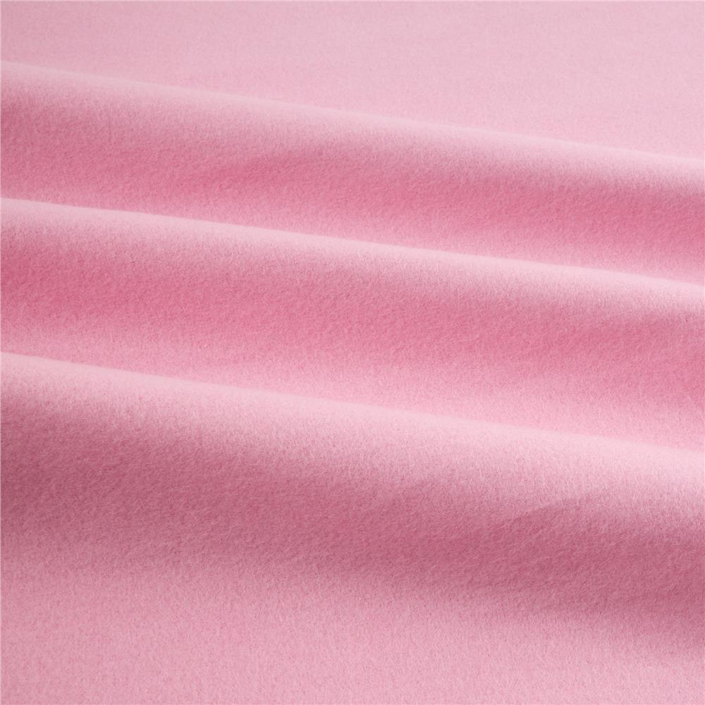 Kaufman Flannel Solid Medium Pink