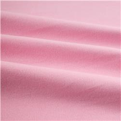 Kaufman Flannel Solid Medium Pink Fabric