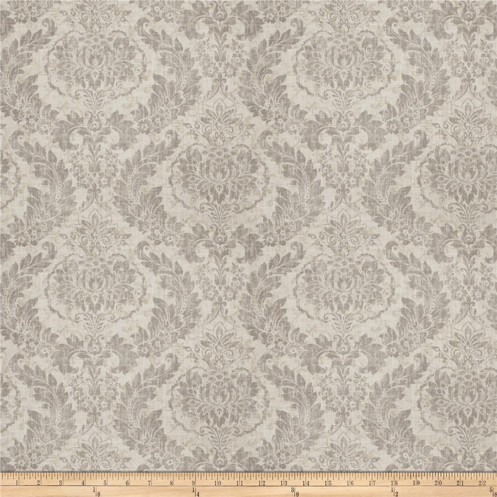 Fabricut Erudition Linen Blend Graphite