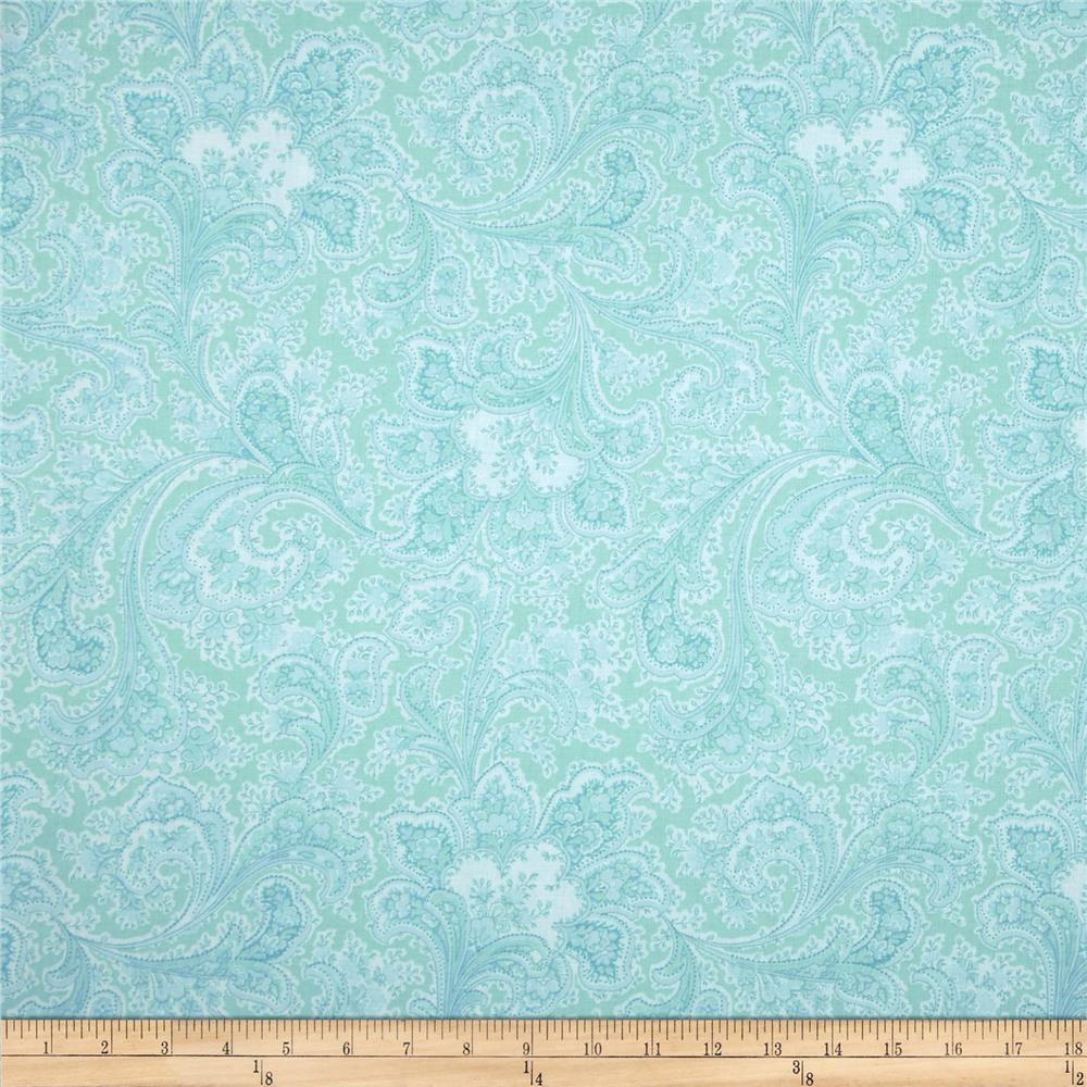 108 wide quilt back rosemont malabar sea breeze for Quilting material
