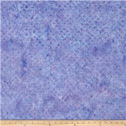 Island Batik Square Fan Light Purple