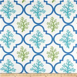 P Kaufmann Indoor/Outdoor Nantucket Turquoise