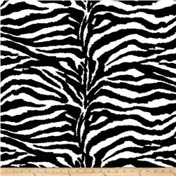 Broadcloth Blend Zebra Black/White