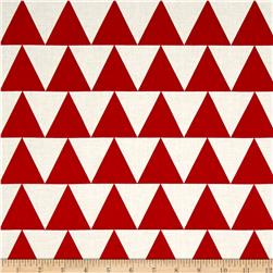 Jane Sassaman Scandia Tile Red