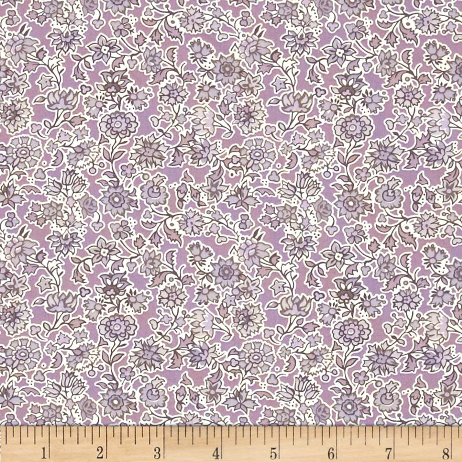 Liberty of London Saville Poplin Pereira Mauve