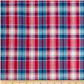 Madras Small Plaid Light Turquoise/Magenta