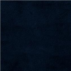 Shannon Minky Solid Cuddle 3 Navy