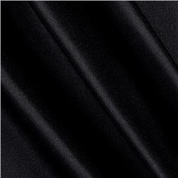 Nylon Activewear Knit Solid True Black