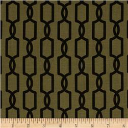 Michael Miller Midnite Gems Trelliage Taupe Fabric