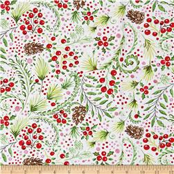 Dena Designs Winterland Snowberry White