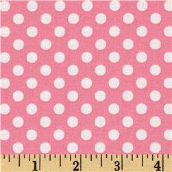 Moda Dot .Dot.Dash-! Dots Everywhere Pink