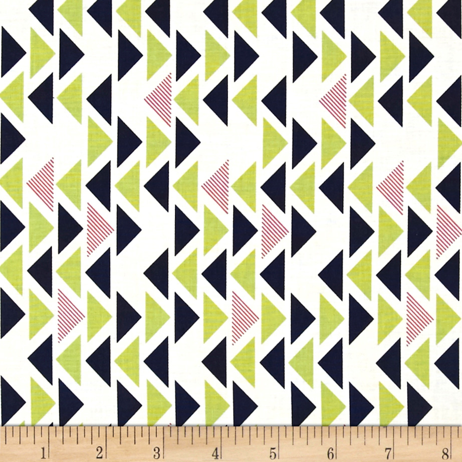 Michael Miller Technicolor Triplet Kryptonite Fabric