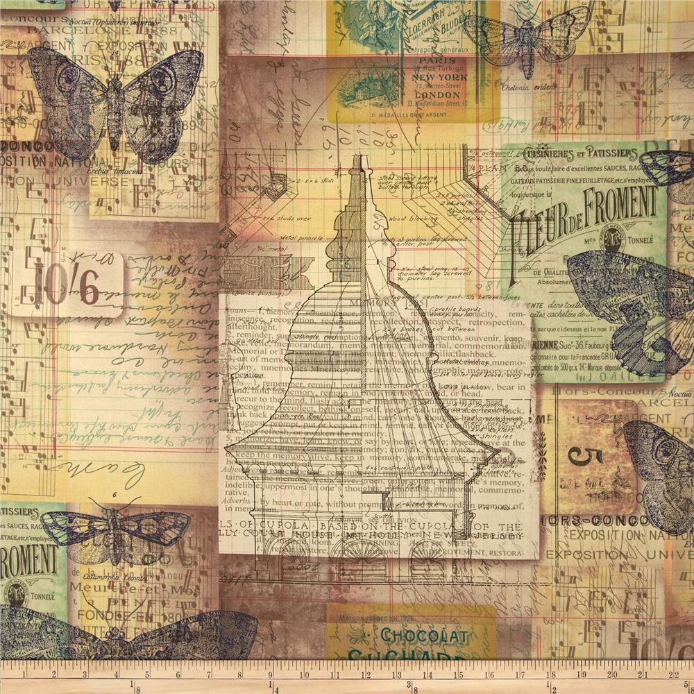 Tim Holtz Eclectic Elements Melange Multi
