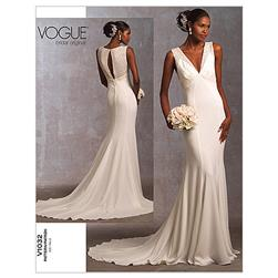 Vogue Misses' Dress Pattern V1032 Size 0A0