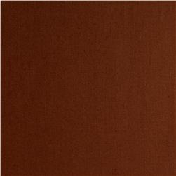 Cotton Broadcloth Cocoa Brown Fabric
