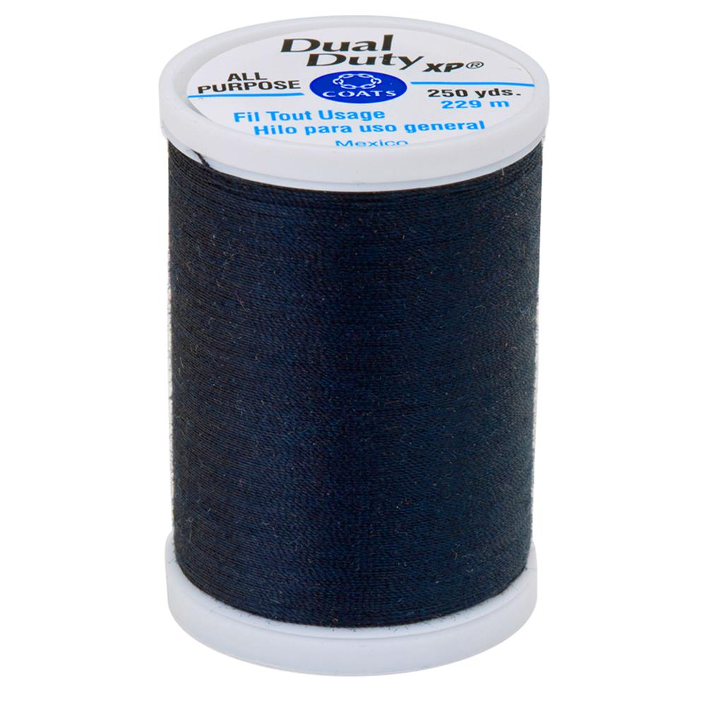 Coats & Clark Dual Duty XP 250yd Dark Midnight