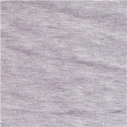Rayon Spandex Jersey Knit Light Steel Grey
