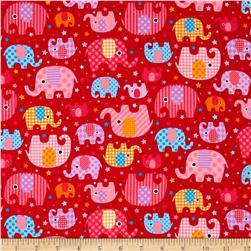 Seven Islands Elephants Red