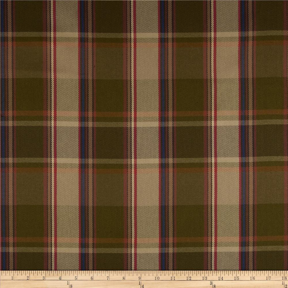 Robert Allen Promo Rustic Plaid Twill Autumn