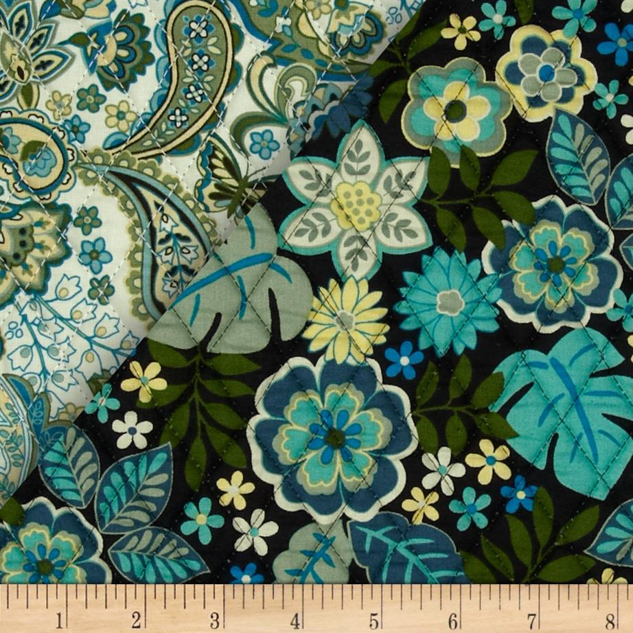 Cassandra Double Sided Quilted Teal