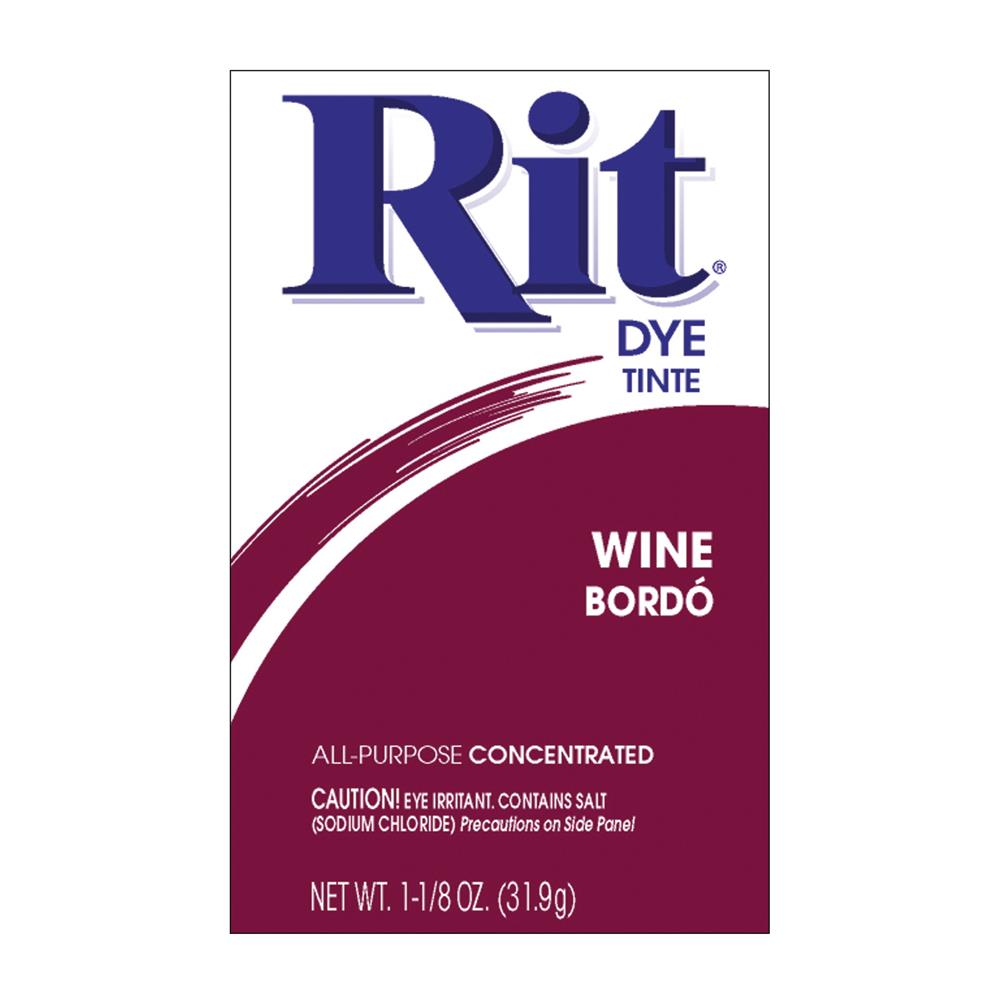 Rit Dye Powder Wine