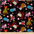 Kanvas Knitty Kitty Cozy Cats Black
