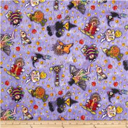 Suzy's Zoo Pumpkin Patch Character Toss Grape Fabric