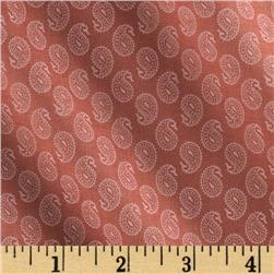 Silk Road Cassandra Paisley Raspberry Fabric