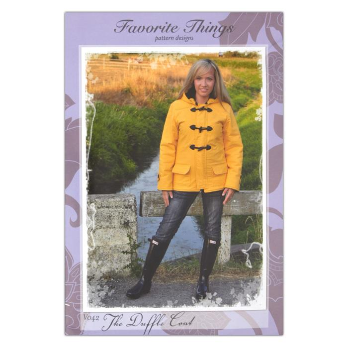 Favorite Things Duffle Coat Pattern