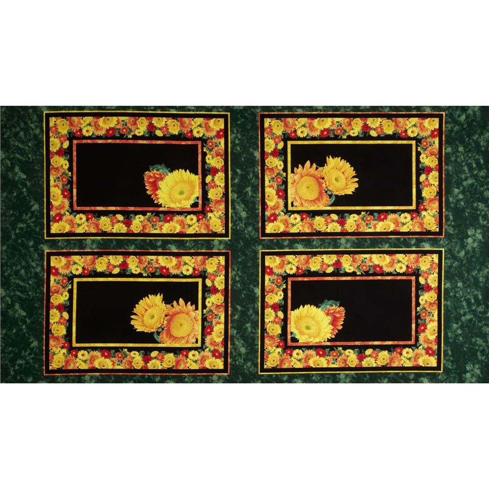 Sunshower Craft Placemats Panel Multi