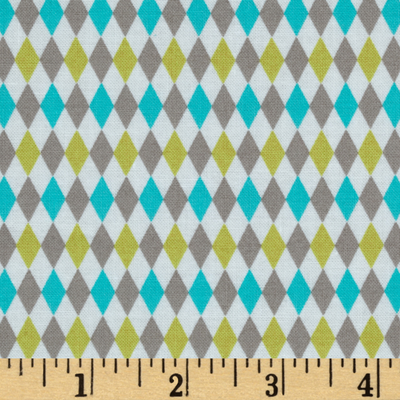 Michael Miller Retro Mini Harlequin Breeze Fabric