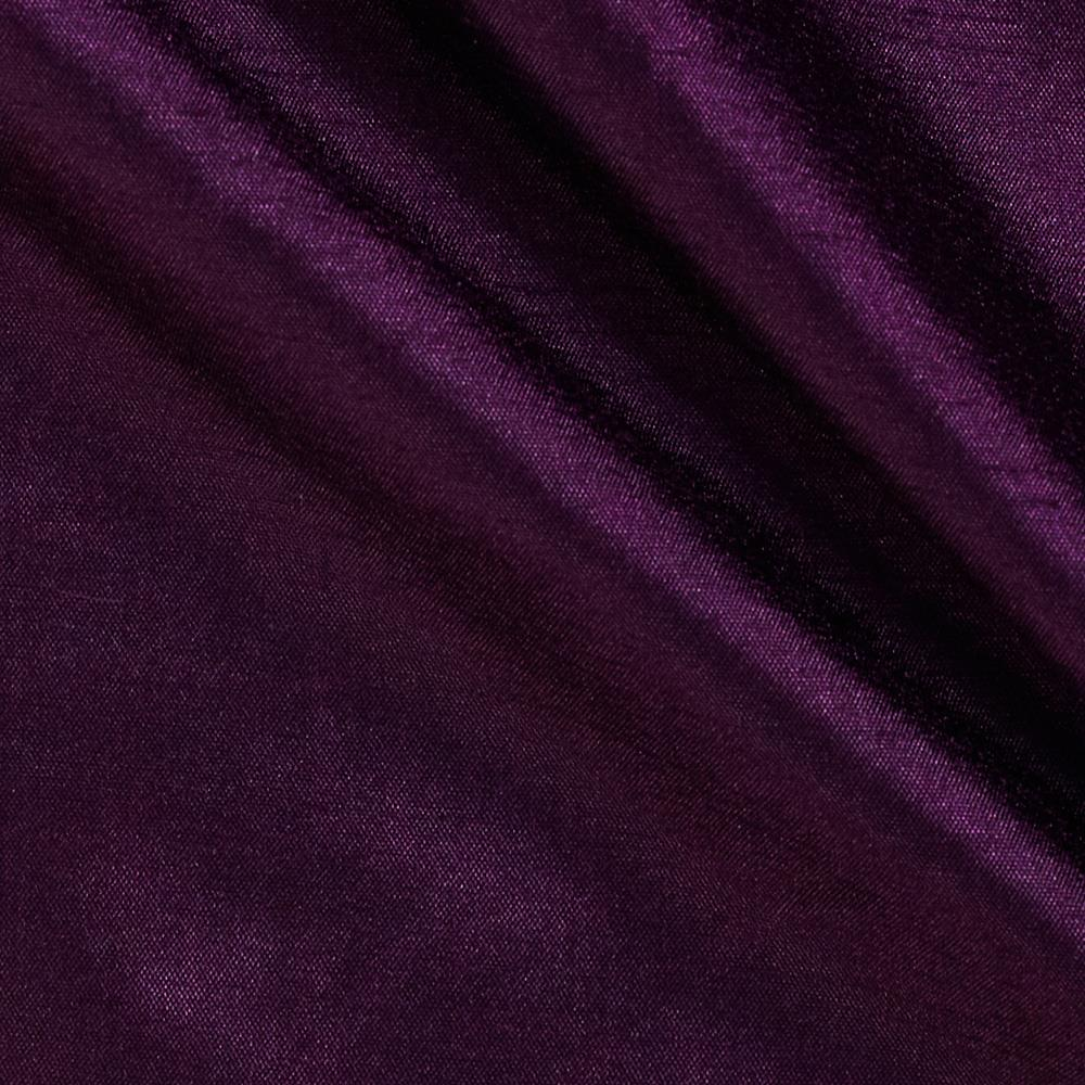 120 Faux Dupioni Majestic Purple Fabric