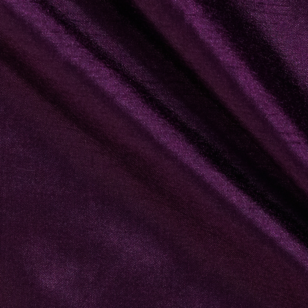 120'' Faux Dupioni Majestic Purple Fabric