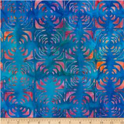 Kaufman Artisan Batiks Optical Illusion Geo Trellis Multi