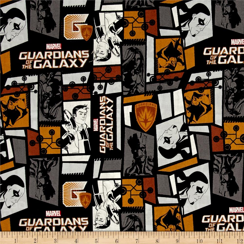 Marvel Guardians of the Galaxy Tiles Black