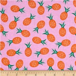 Dear Stella Bay Breeze Pineapples Pink